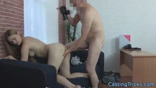 Casting Amazing beauty pounded in leaked sextape