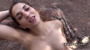 Naked Alluring Girl amateur banged near beach
