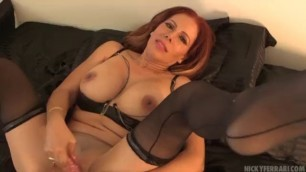 Fucking my shoes hot Nicky Ferrari Bombshell Mexican MILF