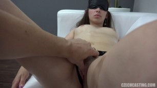 Daniela 6349 Pretty girl agrees to fuck at the casting