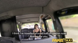 Taxi fan finally gets infamous cock sucks cock in the car