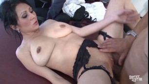 Nifty secretary Mikayla has power over her bosss cock