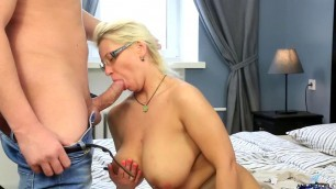 Luba Love sit down on his plump pussy on his cock Hardcore