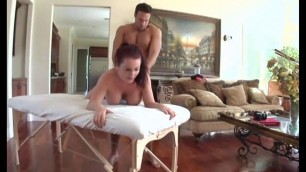 This Big Tits redhead loves to be massaged like this