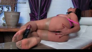 Experienced Donna Ambrose Stocking Footjob Danica Collins