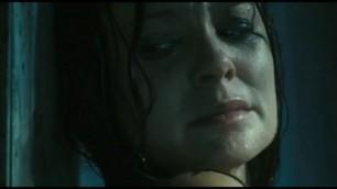 SARAH WAYne callies hiding naked in the shower