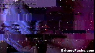 Stunning Woman Britneys Scary Halloween Adventure