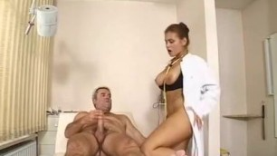 Sexual doctor Elena Nikulina appeases the patient
