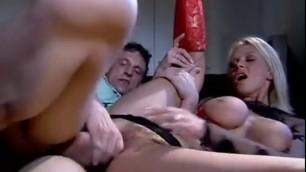 Vivian Schmitt in red boots gets cock in sweet pussy