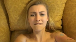Alexa Grace banging in an hotel room POV