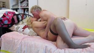 Young Blonde model ass lick Mature Sex