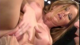 Ultra hot beauty with pierced Juicy pussy Amber Michaels likes intensive sex