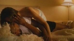 Vanessa Ferlito caresses his pussy with his fingers masturbation