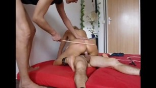 Mature Blonde Humiliating questioning of the devothure