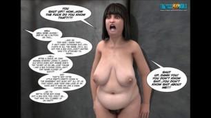 Sexy 3d Seductive Comic