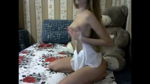 Russian Young Webcam Tease