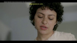 Alia Shawkat Naked Boobs In Transparent Scandalplanet Com