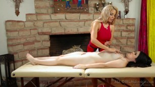 All Babe Massage Well Oiled Friends Part One Luna Star Yhivi