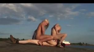 Swedish Boat Fuck Threesome