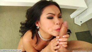 Julesjordan Asian Likes Hardcore Fucking And Squirting From Fuck On Ass