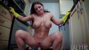 Porn Wife Forced Mallory Sierra Banging Dish Washing Mom