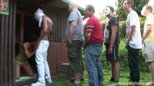 Czech Very Hard Sex Gangbang 17 Part 1