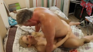 Russian milf fucks milf sex with an alien emigrant Russian private love