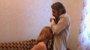 Grandpa fucks young sex with Tiny