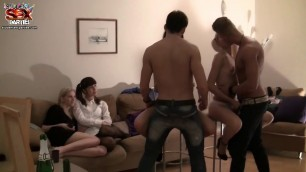 Wild College Orgy After An Exam Scene 5