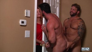 MEN Str8 to Gay Stealth Fuckers Part 1 Billy Santoro Colby Jansen 720p