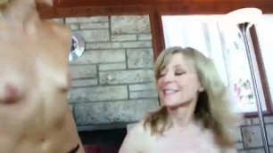 Gorgeous Nina Hartley Loves To Get Fucked By Lesbian eat that