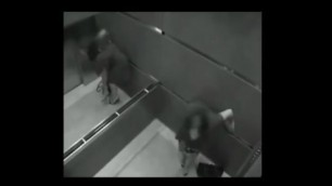 Hidden camera in the Elevator Best sex moments