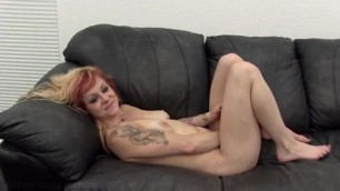 Before she gets her first role in a porn movie naughty babe has to get fucked true love