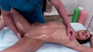 Masseur And Client sex pleasure Service Each Other During Massage Session