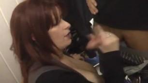 big tits horny woman had quick sex