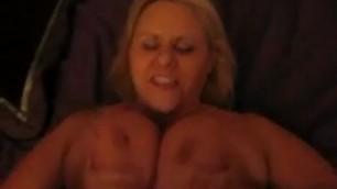 Busty Blonde Milf Bbw Fucked And Jizz On Tits