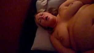 Dirty talking horny bbw wife