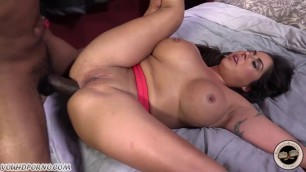 Many black dicks for chubby moms with big tits