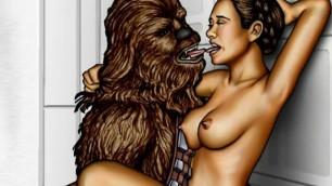 Star Wars porn parody
