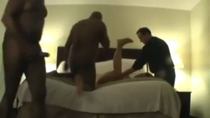 White bitch crying and begging interracial guys for hard get sex at yeah