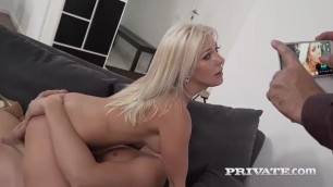 Slutty milf nikyta enjoys hard dirty anal while her husband watches