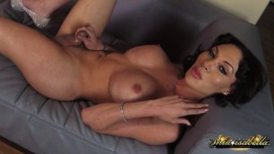 Mia isabella has huge cock
