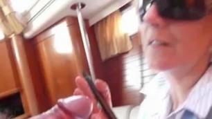Granny jasmine sells a boat hard fucks