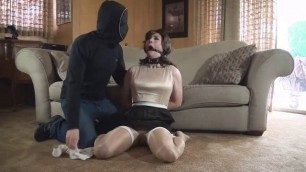 Bound to be used women with wet pussy