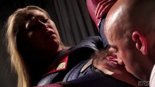 WickedPictures DC Comics Porn Parody The President needs support super girl