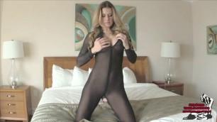 Sex nova moore castratrix femdom beauty stepmom pov catsuit heels joi