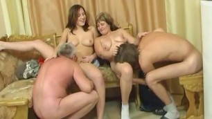 Wife Fucks Young Neighbor Familysex Usual Family Dinner Turns Into An Incest Sex Party