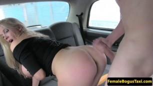 British taxi driver cock sucking Natascha passenger