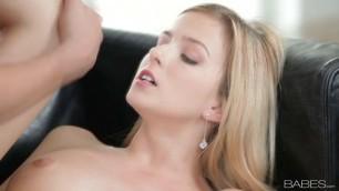 BEYOND INNOCENCE Abigaile Johnson Pretty blonde slowly takes a dick