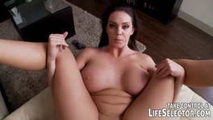 Alison Tyler Her ass moves in time with his movements POV